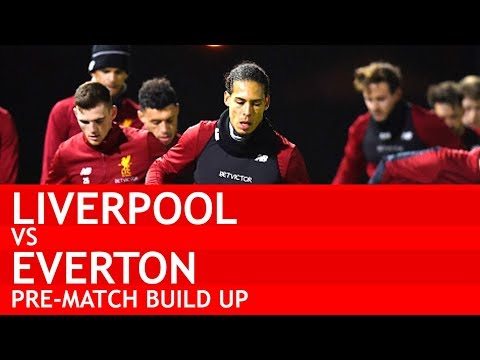 WILL VAN DIJK PLAY? Liverpool v Everton Pre-Match Build Up #LIVEVE
