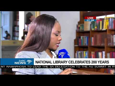 200 Years Celebration - National Library of South Africa