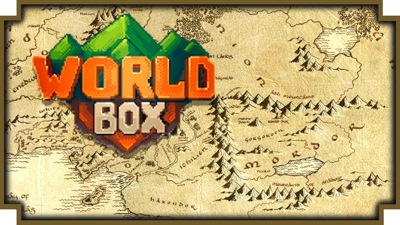Lord Of The Rings World Map World Box   The Lord of the Rings   YouTube