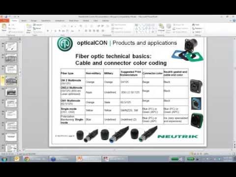 BTX & Neutrik present: Fiber Optic Theory, Products and Applications Webinar