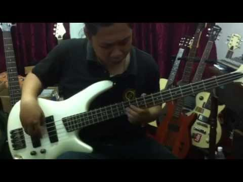 Bass Cover Rockschool - Ambai Di Ambi Pulai by Rizal Rockschool