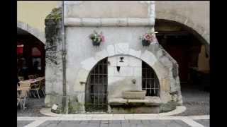 Annecy -  visite de la vieille ville  -   juillet 2014