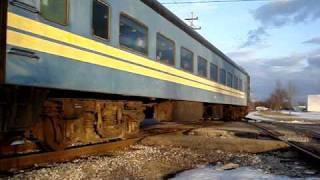 Owosso - 1225 Steam Engine Train - South Cedar Street Crossing