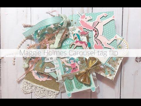MAGGIE HOLMES CAROUSEL FLIPBOOK PROCESS VIDEO