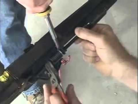 How To Install A Chamberlain Garage Door Opener Diy Youtube
