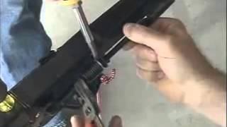 how to install a chamberlain garage door opener diy
