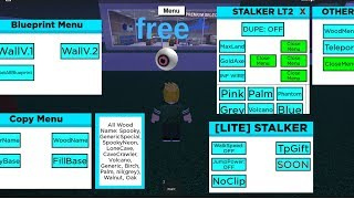 NEW STALKER SCRIPT FREE (UPDATED NEW) (LUMBER TYCOON 2 ROBLOX)