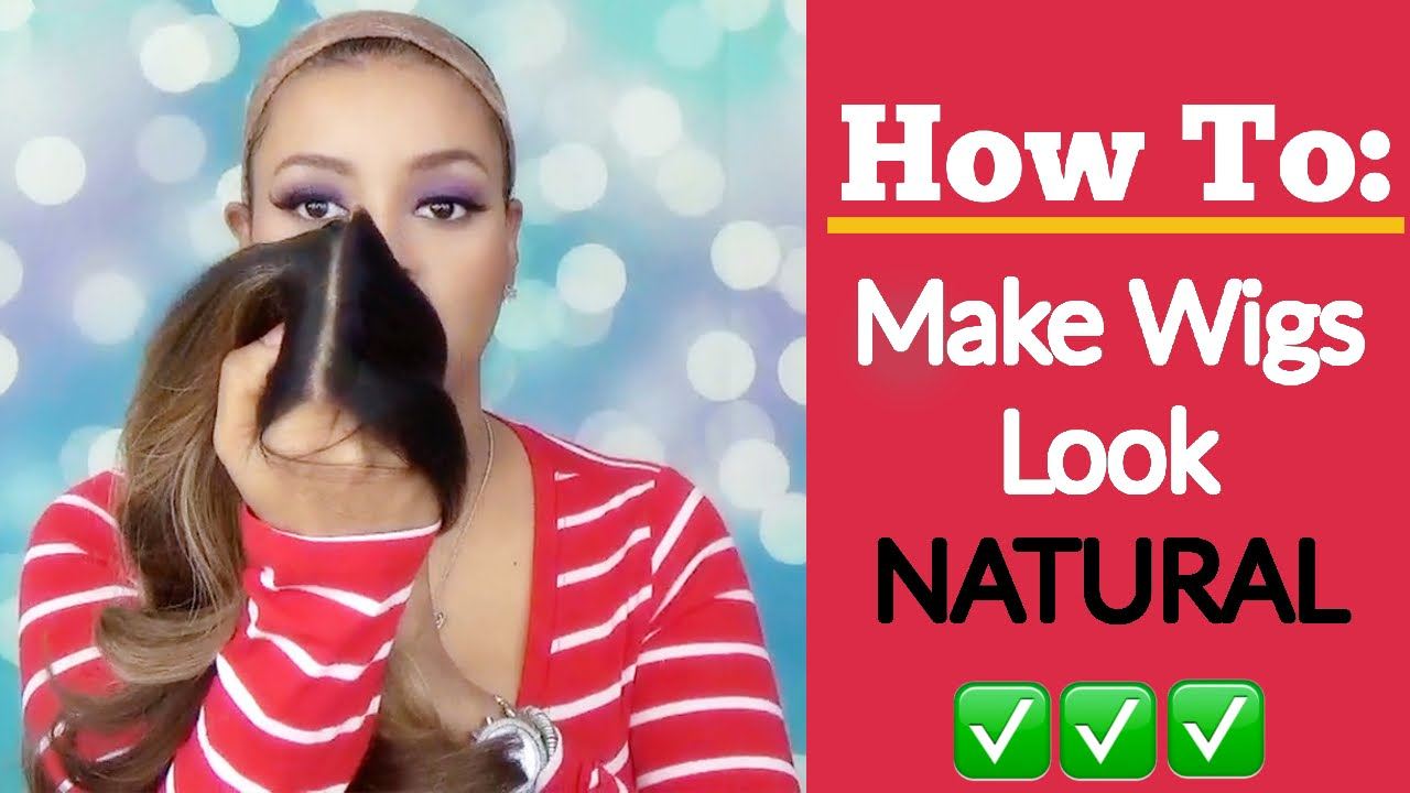How To Blend Wigs To Make Them Look Natural Youtube