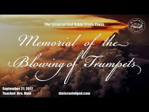 "IOG - ""The Memorial of Blowing of Trumpets"" 2017"