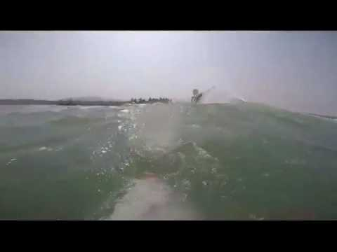 Surfing pasauran anyer west java