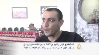 60% من الفلسطينيين يؤيدون عودة انتفاضة مسلحة
