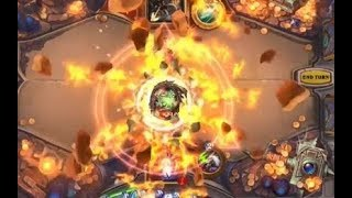 New Card Animations and Board from Kobolds and Catacombs - Hearthstone