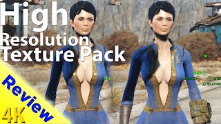 fallout 4 high resolution texture pack graphics comparison 4k ultra settings discussion