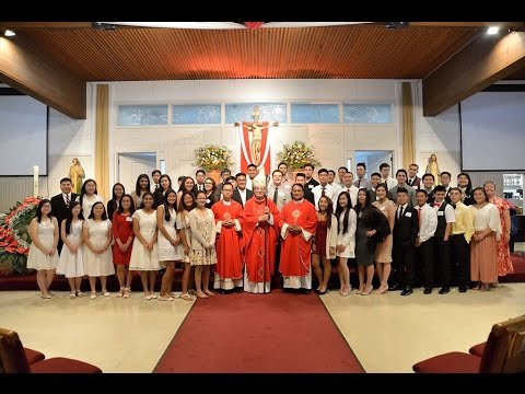 Confirmation Mass 2016 - St. Elizabeth Catholic Church