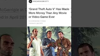 Grand Theft Auto V - Most Sales of ALL TIME!
