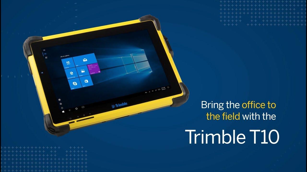 Trimble T10 Tablet - Precision Midwest