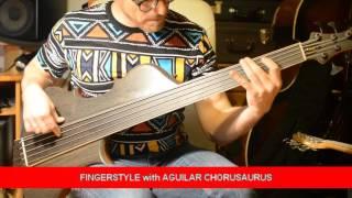 STRADI SYMPHONY BASS + Aguilar Chorusaurus Soundtest