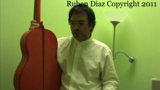 Composition lesson 2 on Tanguillo/ free flamenco contemporary guitar lesson by Ruben Diaz