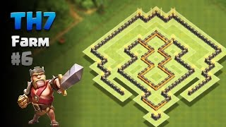 Clash of Clans ⚫ TH7 Farming Base #6 [2017]