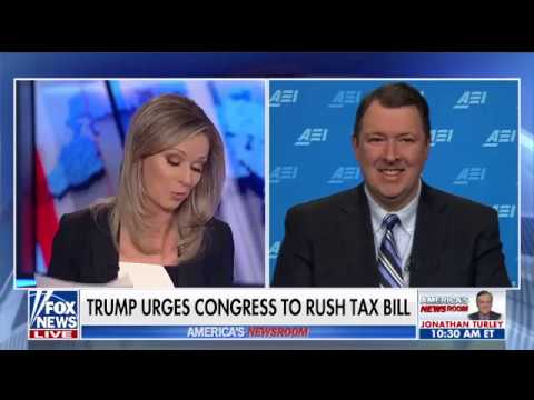 Discussing the Republican tax reform bill on America's Newsroom