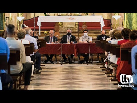 VÍDEO: Entrega de reconocimientos en la Junta General de Hermanos de la Real Cofradía de la Virgen de Araceli
