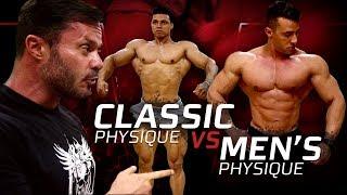 CLASSIC PHYSIQUE VS. MEN'S PHYSIQUE | QUAIS AS PRINCIPAIS DIFERENÇAS?