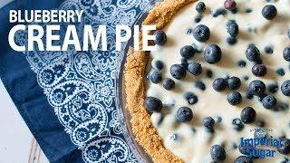 How To Make Blueberry Cream Pie