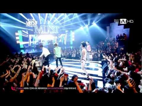 [130326] SHINee (샤이니) - Lucifer (루시퍼) + Beautiful (아름다워) (Remix) @ MNet Yoon Do Hyun's MUST