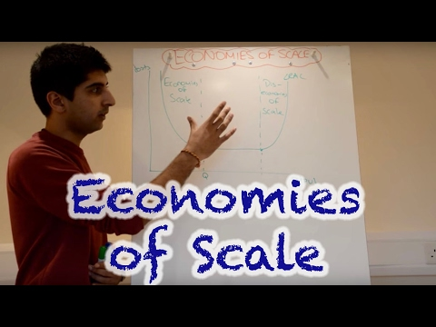 Y2/IB 6) Economies and Diseconomies of Scale