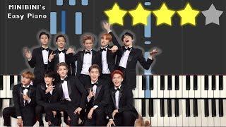 NCT 127 - Interlude : Regular to Irregular 《MINIBINI EASY PIANO ♪》 ★★★★☆ [Sheet]