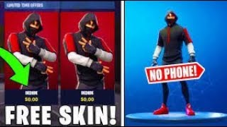 HOW TO GET ICONIC SKIN * FOR CHEAP WITHOUT PHONE * METHOD FORTNITE BATTLE ROYALE