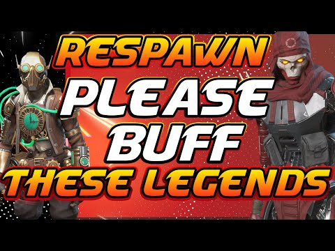 RESPAWN PROBLEM WITH BUFFING AND NERFING LEGENDS : Apex Legends Season 4