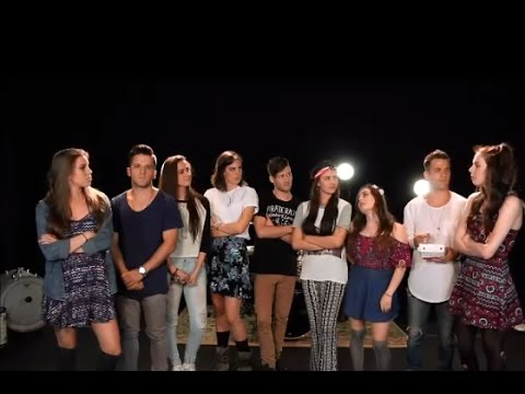 Cimorelli and The Johnsons Singing