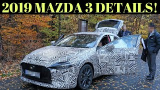 Hidden Details about the 2019 Mazda 3!!
