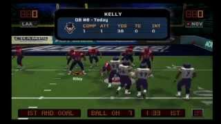EA Sports Arena Football - New Orleans Voodoo vs L.A. Avengers