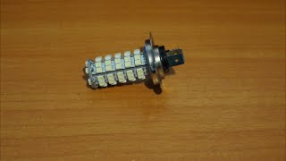 Устанавливаем светодиодную лампочку в OPEL ASTRA!