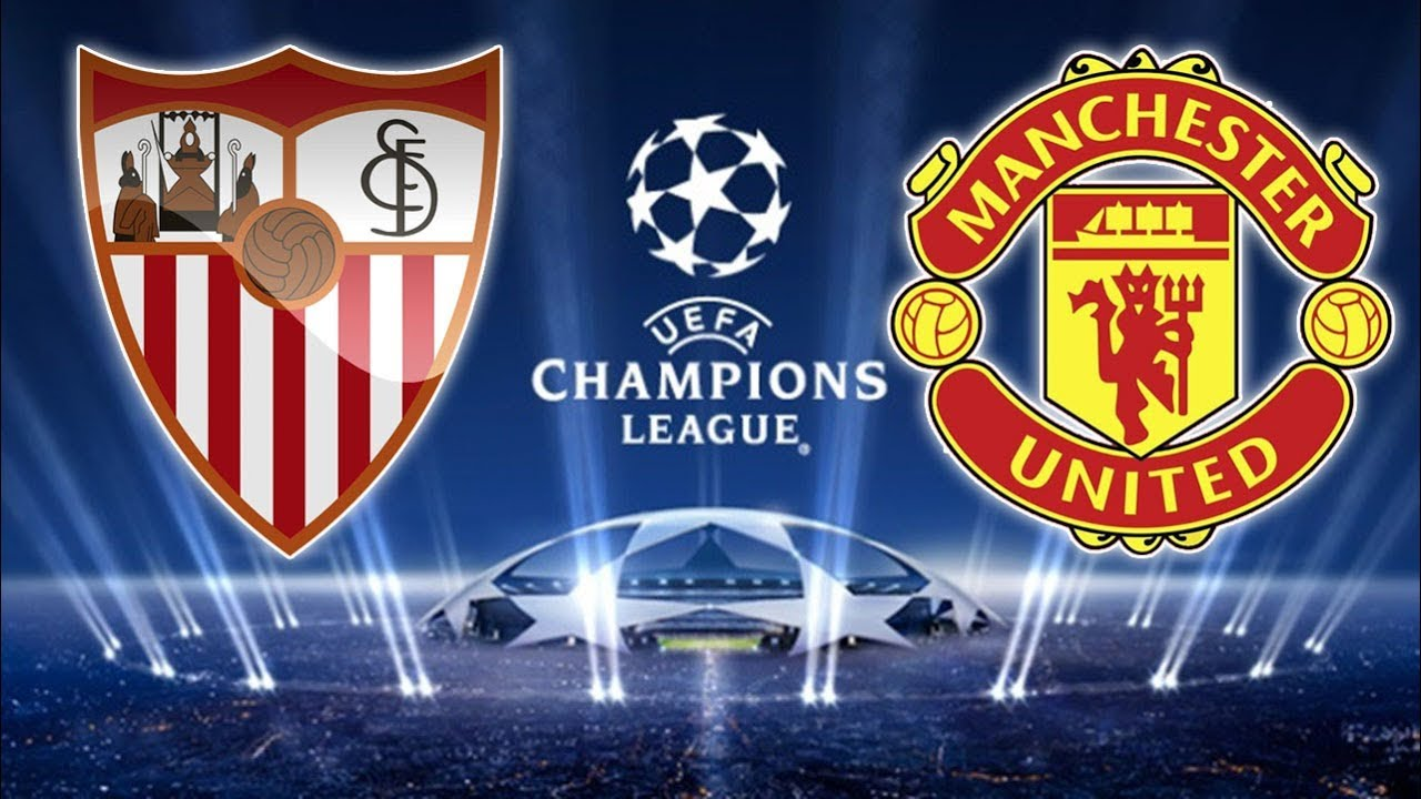 Sevilla X Manchester United  Uefa Champions League