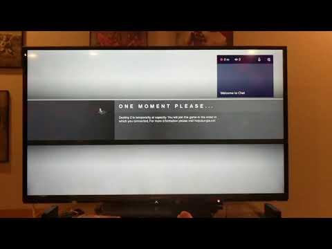 Destiny 2 Launch Problems - Capacity!!