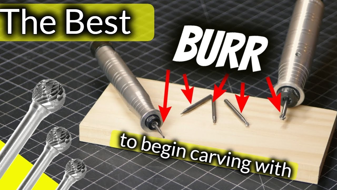 The Best Burr To Begin Wood Carving/Power Carving With