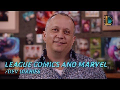 League Comics and Marvel | /dev diary – League of Legends