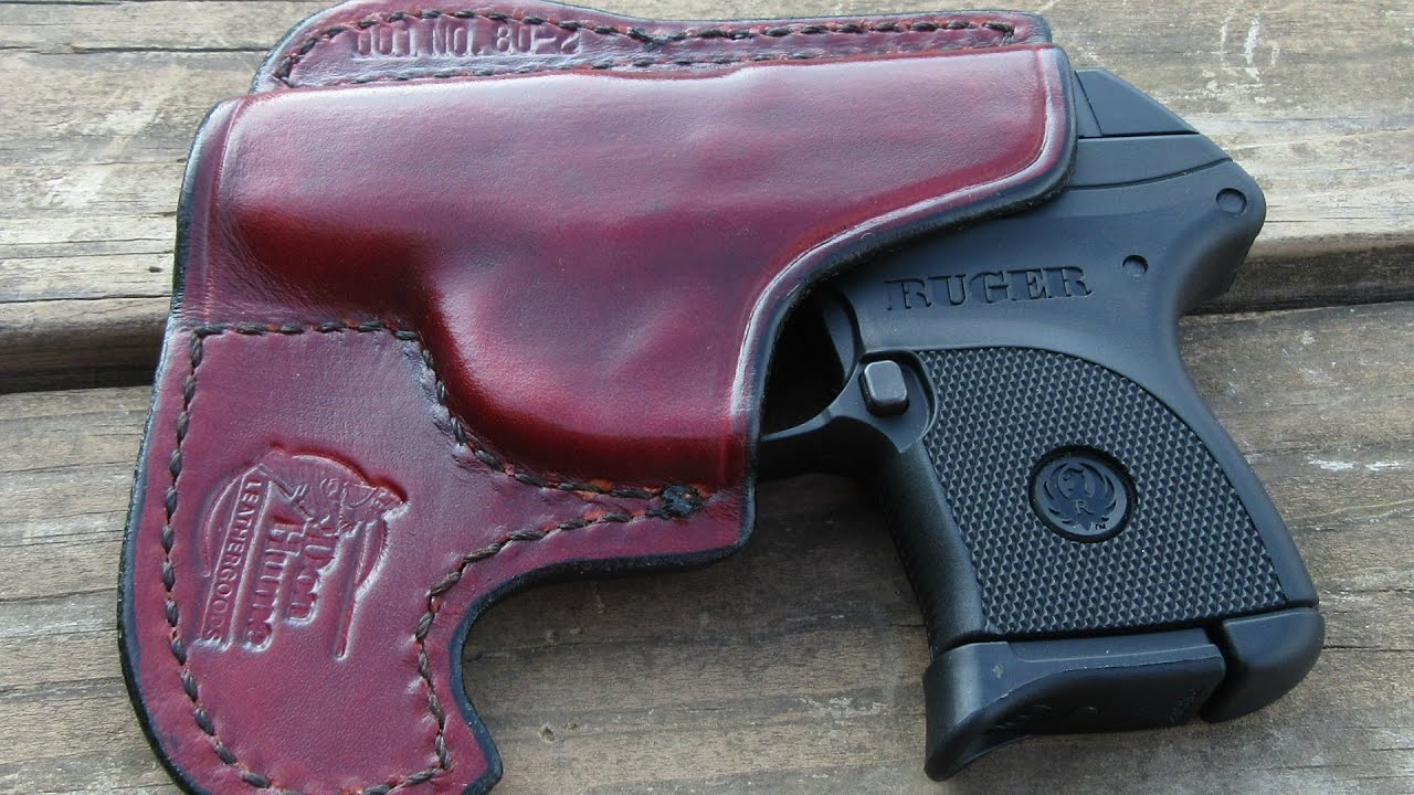 RUGER LCP FRONT POCKET LEATHER HOLSTER BY DON HUME