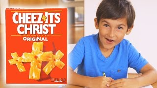 Cheez-Its Christ  -  The One True Communion Snack   {The Kloons}