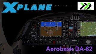 Aerobask DA-62 for X-PLANE 11 - night flight