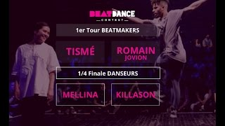 BeatDance Contest 2016 - 1/4 final Battle - (Mellina vs Killason - Tismé vs Romain Jovion)
