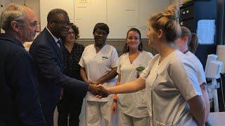 Accompagnement des migrantes ayant subi des violences sexuelles : visite du Dr Mukwege à Avicenne