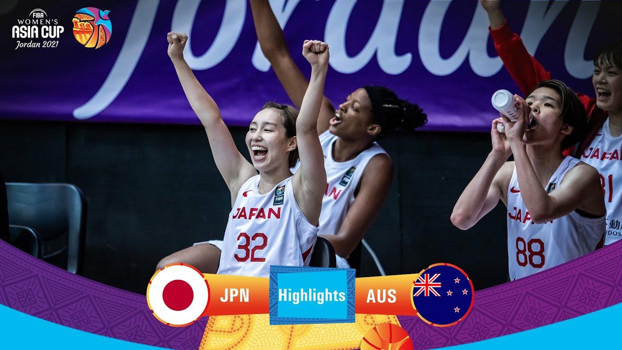 Japan - Australia   Highlights - FIBA Women's Asia Cup 2021