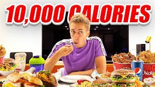 I ATTEMPTED TO EAT 10,000 CALORIES IN 24 HOURS (CHALLENGE)