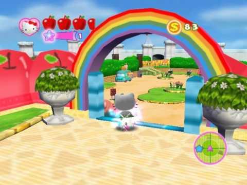 [Rus] Летсплей Hello Kitty: Roller Rescue. #1