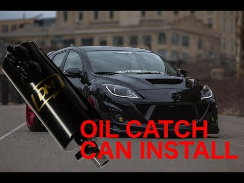 2012 Mazdaspeed3 Oil Catch Can Install