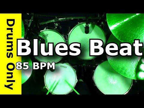 BLUES DRUM BEAT 85 BPM - Backing/Jam Track - JimDooley.net